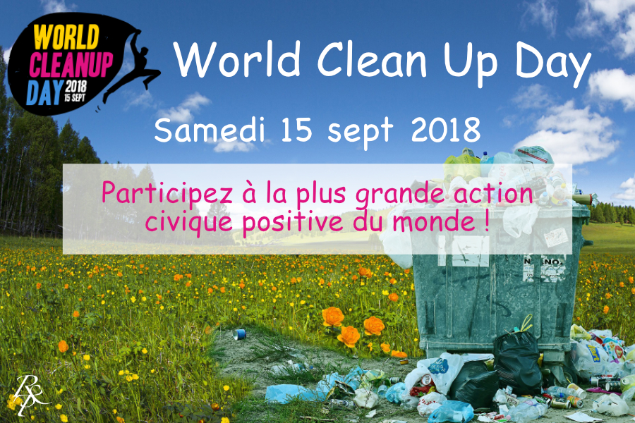 World Clean Up Day - La Réunion Terre Sacrée